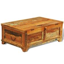 coffee table coffee table out of crates reclaimed wood block