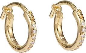 hoop earrings ileana makri huggie hoop earrings barneys new york
