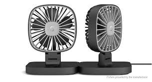 usb powered car fan 13 38 usb powered auto car mini fan super silent 3