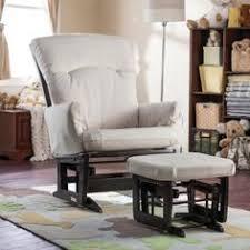 Espresso Rocking Chair Nursery Baby Nursery Storkcraft Bowback Glider Rocker And Ottoman Beige