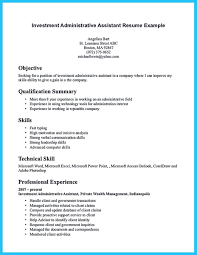 resume technical skills summary exle best administrative assistant resume sle to get job soon how
