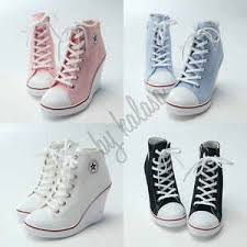 Jual Wedges jual wedges sneakers converse 7cm murah bebeh shop