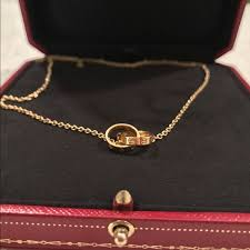 cartier love necklace images 32 off cartier accessories sold authentic cartier love jpg