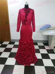 evening dresses plus size real photos lace burgundy saudi arabia