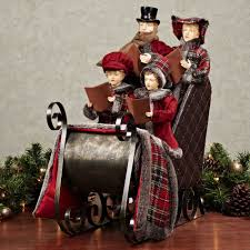 carolers figurines cheminee website