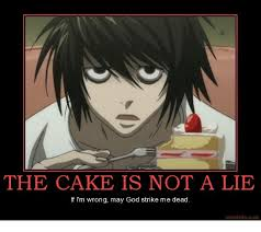 The Cake Is A Lie Meme - the cake is not a lie if i m wrong may god strike me dead motifake