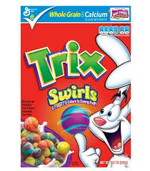 Trix Cereal Meme - red hot deal trix only 29 cents at target ends 8 29 grocery