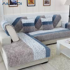 1 pièce plumer tissu housse de canapé européenne style doux moderne