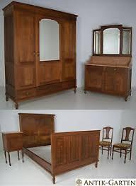 antik schlafzimmer antik schlafzimmer komplett eiche massiv jugendstil 6 teilig