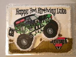 pictures of grave digger monster truck 3d grave digger monster truck cake erriberricakes com