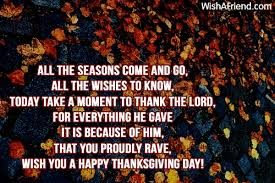 all the seasons thanksgiving poem