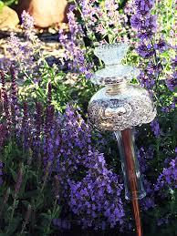 hayseed homemakin vintage glass garden ornaments