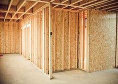build a dry wall partition for your house wall wood pipes and woods