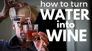 wine birthday meme how to turn water into wine crazy party magic trick revealed