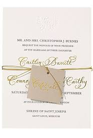 Foil Wedding Invitations Gold Foil Wedding Invitations Brides