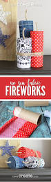 best 25 americana home decor ideas on pinterest flag decor make your own fabric firework craft