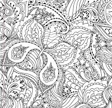 complex coloring pages anime and flowers coloringstar
