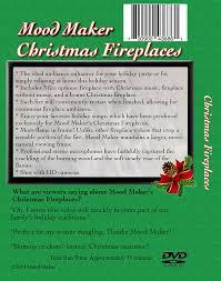 amazon com christmas fireplaces dvd includes christmas music