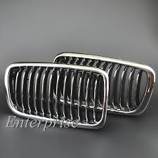 for e38 bmw front kidney chrome grille 99 01 740 750 7 series
