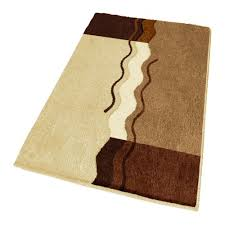 designer bathroom rugs lavish home extra long reversible bath rug amp reviews wayfair