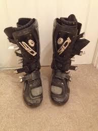 size 6 motocross boots sidi motocross boots size 10 9 in trowbridge wiltshire gumtree