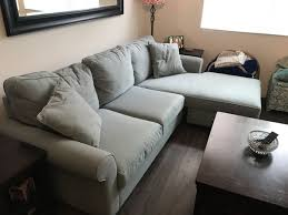 egan sofa w reversible chaise egan ii cement sofa furniture in vista ca offerup
