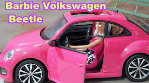 barbie corvette vintage barbie volkswagen beetle and doll playset review youtube