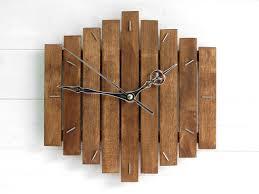 thanksgiving gift wooden wall clock romb i