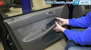 1999 honda civic window motor how to install replace power window master switch 1996 2000 honda