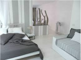 deco chambre gris et couleur chambre camaïeu de gris et blanc ambiance