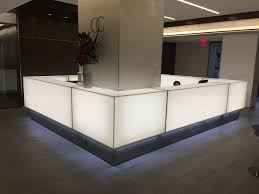 Reception Desk With Display Arnold Contract