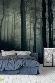 90 best forest wall murals images on pinterest wallpaper designs foggy dark forest wall mural wallpaper