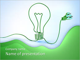 green electricity powerpoint template u0026 backgrounds id 0000005055