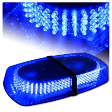 Emergency Light Bars For Trucks Blue Vehicle Car Truck Emergency Hazard Warning 240 Led Mini Bar