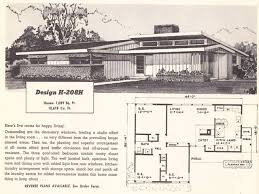 house inspiration mid century modern ranch house plans mid