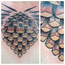 images pine cone tattoo