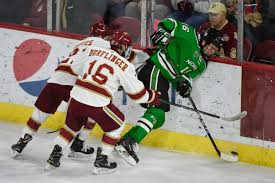 North Dakota traveling pants images No 3 north dakota rallies back in a wild win over top ranked jpg