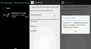root my phone apk how to root unroot android using framaroot in 10 seconds