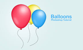 party balloons create party balloons in photoshop