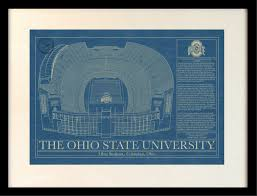 Ohio Stadium Map by Ohio Stadium At The Ohio State University Columbus Ohio Ohio Ohio