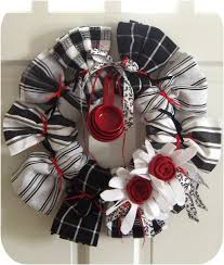 wedding gift kitchen kitchen towel wreath great for house warming gift or wedding gift