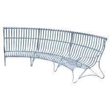 buy verdigris curved garden bench u2013 4 seater burford garden company