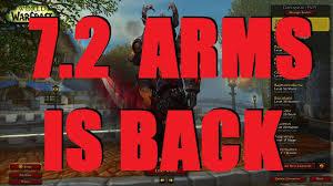 Bajheera Legion Arms Warrior Talent Guide Pve Pvp Bajheera Arms Warrior Is Back In 7 2 Legion 7 2 Warrior
