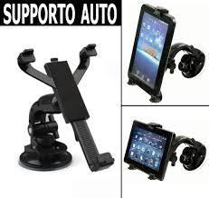 porta tablet auto supporto a ventosa parabrezza porta tablet universale 7 8 pollici