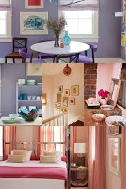a small charleston rental that feels like home small spaces lonny paint proves transformative in the dining area where luminous lavender walls play off purple danish