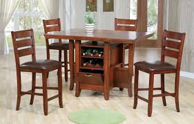 dining table with wine storage traditional pub dining room with redford high top kitchen table