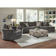 Swivel Armchairs For Living Room Design Ideas Chairs Gray Upholstery Pc Sectional Furniture Home