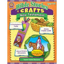 bible stories u0026 crafts new testament tcr7059 teacher created