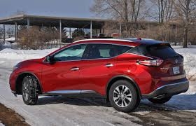 nissan murano red 2016 suv review 2015 nissan murano sl awd driving