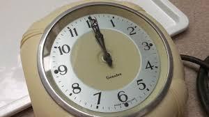 Art Wall Clock by Rare Vintage Art Deco U0027genalex U0027 Ivory Bakelite Electric Wall Clock